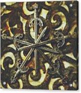 Conspirators Of The Crown Acrylic Print