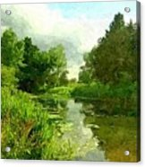 Constable Country Acrylic Print by Wu Wei