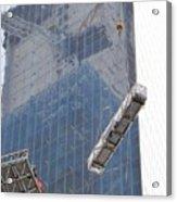 Construction Reflection Acrylic Print