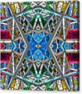 Constructurropolis Acrylic Print