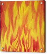 Consuming Fire Acrylic Print