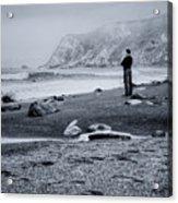 Contemplation - Beach - California Acrylic Print