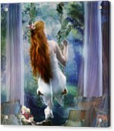 Contemplation Acrylic Print by Mary Hood