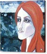 Contemplation Of Serenity Acrylic Print by Pamela Maloney