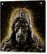 Contemplative Christ Acrylic Print