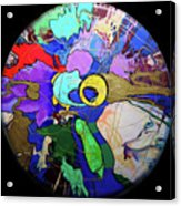 Contemporary Art - Abstract In The Round  Acrylic Print