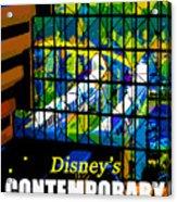Contemporary Window To The World Acrylic Print