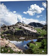 Continental Divide Above Twin Lakes 2 - Weminuche Wilderness Acrylic Print