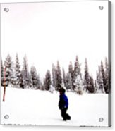 Continental Divide January 1 2000 Acrylic Print