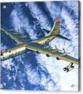 Convair B36 - Oil Acrylic Print