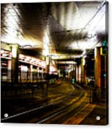 Convention Center Station Acrylic Print