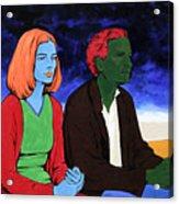 Conversation Acrylic Print