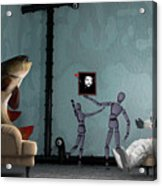 Conversing With Demons At 2 Am Acrylic Print