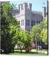Cook Hall Illinois State Univerisity Acrylic Print