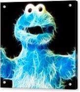 Cookie Monster - Sesame Street - Jim Henson Acrylic Print