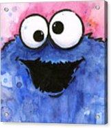 Cookie Monster Acrylic Print