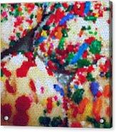 Cookies Mosaic Acrylic Print