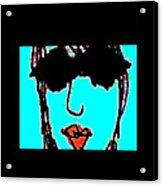 Cool Girl Derivative Acrylic Print