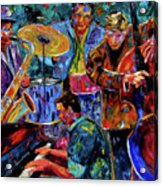 Cool Jazz Acrylic Print