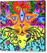 Cool Kitty Cat Acrylic Print