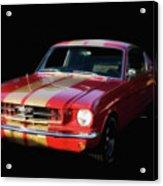 Cool Mustang Acrylic Print