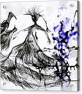 Cool Sketch 128 Acrylic Print