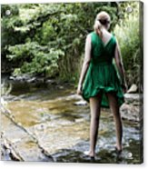 Cool Stream Acrylic Print