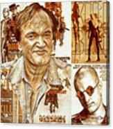 Cool Tarantino Poster Acrylic Print