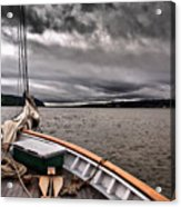 Cool Winds On The Hudson Acrylic Print
