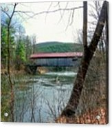 Coombs Covered Bridge Acrylic Print