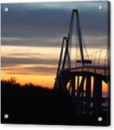 Cooper River Bridge - Charleston Sc Acrylic Print