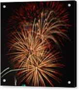 Coors Field Fireworks 4 Acrylic Print