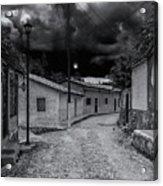 Copala Cobblestone Street Acrylic Print