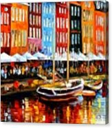 Copenhagen Denmark Acrylic Print