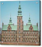 Copenhagen Rosenborg Castle Back Facade Acrylic Print