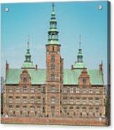Copenhagen Rosenborg Castle Facade Acrylic Print
