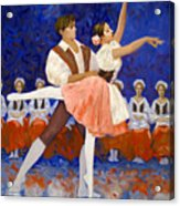 Coppelia Acrylic Print by Kevin Lawrence Leveque