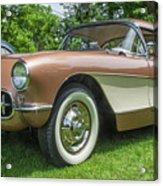 Copper 1967 Corvette  Acrylic Print