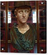 Copper Bust In Rome Acrylic Print