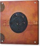 Copper Clad Acrylic Print