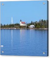 Copper Harbor Lighthouse Acrylic Print