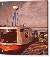Copper Harbor Waterfront Acrylic Print