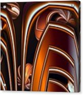 Copper Shields Acrylic Print