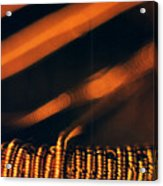 Copper Wirework. Acrylic Print