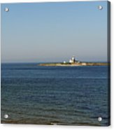Coquet Island And Lighthouse Acrylic Print
