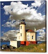 Coquile Light, Oregon Acrylic Print