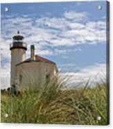 Coquille Lighthouse H Acrylic Print