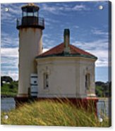 Coquille Lighthouse V Acrylic Print
