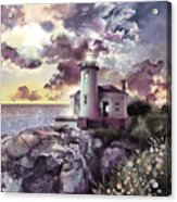 Coquille River Lighthouse 2 Acrylic Print