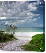 Coquina Beach-bradenton Florida Acrylic Print